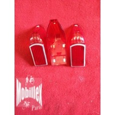 Promotion lot 3 Cabochon Feu rouge Solex